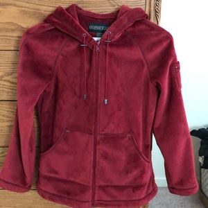 Red super soft Jacket